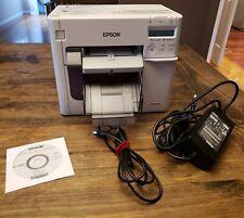Epson TM-C3500 Color Label Printer  ColorWorks C3500