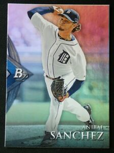 2014 Bowman Platinum #14 Anibal Sanchez - NM-MT