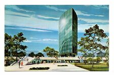 Elliptical Office Building Postcard Hartford Connecticut Phoenix Mutual Life Ins