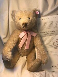 Limited Edition # 3993 of 5000 STEIFF Appolonia Margarete Bear, 2005 edition