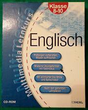 Englisch - Lernsoftware/Multimedia CD-Rom für die Klassen 8 -10