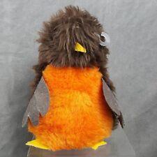"Vintage Possum Trot Robin Bird Plush Beanie Beanbag Stuffed Animal 7"""