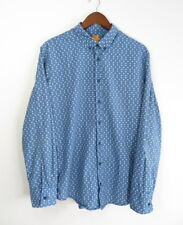 HUGO BOSS Slim fit Skull Long Sleeve Men's Shirt Size : L