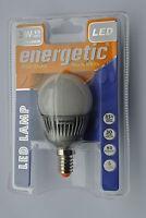 Pack 6 x Energetic 3w E14 LED G45 Mini Globe Opal Golfball Bulb Warm White 110lm