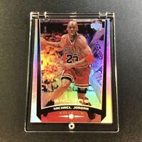 MICHAEL JORDAN 1998 UPPER DECK ENCORE #102 HOLOFOIL REFRACTOR LIKE CARD BULLS MJ