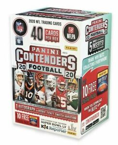 2020 NFL Panini Contenders Football Blaster Box Factory Sealed