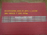 4pcs UE32J5500 LED strip for samsung 2014SVS32FHD LM41-00041K D4GE-320DC1-R2