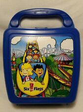 Vintage Six Flags Over Whirley Drink Works Lunch Box