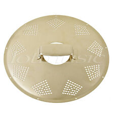 Resonator Cover Plate Coverplate for Resonator Dobro Resophonic Guitar Gold