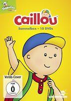 CAILLOU SAMMEL-BOX (10DVDS) 10 DVD NEU