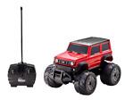 BANDAI Amphibious Radio Control Car SUZUKI Jimny Sierra Mini W Drive Red Toy