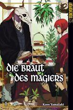 Die Braut des Magiers 1 - deutsch - Tokyopop - NEU