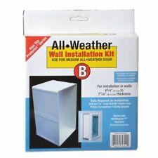 "Lm Perfect Pet All Weather Wall Installation Kit Medium (7"" x 11.25"" Flap Size)"