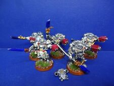 5 Grey Knights in Servorüstung der Dämonenjäger METALL
