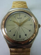 YGS104C Swatch - 1995 IRONY BIG Collier Or Classique swiss made authentic