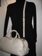 NEW MIU MIU PRADA Large Croc Leather Tote Shoulder Cross-Body Bag Handbag Purse