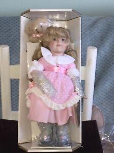 Franklin Mint Heirloom Doll Goldilocks