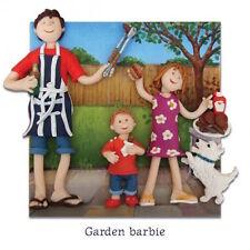 """Holy mackerel """"jardin barbie"""" barbecue amoureux carte de vœux * 1ST classe p&p"""