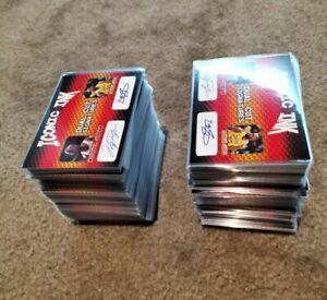 Huge 260+ Iconic Ink NBA Dual Cut Signatures Auto Card Lot LeBron/Michael Jordan