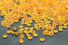 1000 piedras efecto diamantes oro 4,5 mm decoración mesa Boda sala manualidades