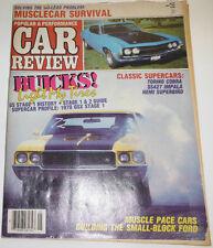 Car Review Magazine Buicks Light My Tires Torina Cobra May 1986 082314R