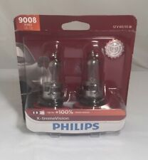 Headlight Bulb-X-treme Vision-Twin Blister Pack Philips 9008XVB2