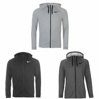 Nike Dri-Fit Full Zip Hoody Jacket Mens Hoodie Sweatshirt Sweater Hooded Top