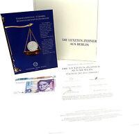 Deutschland 2 x 10 DM Sonderausgabe der Münze Berlin zur Währungsunion zum Euro