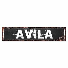SLND0421 AVILA CAVE Street Chic Sign Home man cave Decor Gift