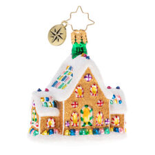 Christopher Radko Gingerbread Dream Home Glass Ornament 1020136