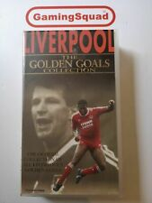 Liverpool----------The Golden Goals Collectionh --- VHS VIDEO --PAL