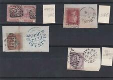 IRISH POSTAL HISTORY EARLY VICTORIAN STAMPS USED ON PIECE 1848- 1893