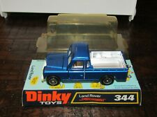 Dinky 344 Land Rover 109 WB Metallic Blue Near Mint In Original Box