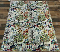 4'x6' New Finest Tree of Life Modern Peshawar hand knotted wool Oriental rug