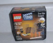 Lego Studios 1356 - Stunt Man Catapult - Factory Sealed Box