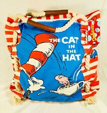 NWT RARE Brand NEW Dr. Seuss Large Tote Beach Market Hand Bag - Cat in The Hat