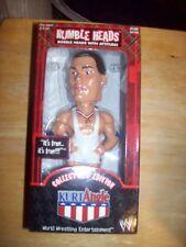 Rumble Heads WWF WWE Kurt Angle Collector's Edition Bobble Head - NIB - 2001