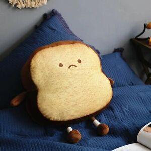 Bread Slice Pillow Toast Bread Plush Toy Peluche Doll Stuffed Plushie