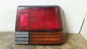 87 88 89 Chevrolet Spectrum Sedan Right Passenger Tail Light OEM
