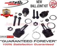 LIFETIME Upper & Lower Ball Joint Kit 2WD Ford F250 F350 Super Duty 1999 - 2014