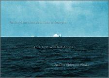 Photo: RMS Titanic: Only Visible Ice Berg Taken By Carpathian Passenger - 1912