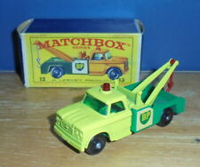 Matchbox Regular Wheels 13 Dodge Wreck Truck BP SC3