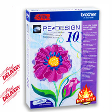 Brother PE Design 10 | Embroidery Full Software 2020 🔥Free Gifts 🔥D ELIVR 2 s