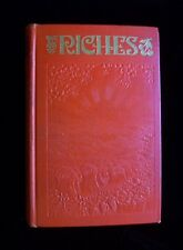 RICHES Watchtower Jehovahs Witnesses Original Book 1936