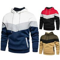 Men Hooded Hoodie Jumper Coat Long Sleeve Top Sweatshirt Pullover Outwear Blouse