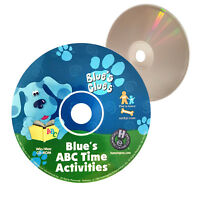 (Nearly New) Blue's Clues Blue's ABC Time Activities PC Game - XclusiveDealz
