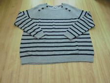 BODEN WONDERFULL LOOKING  CHUNKY BUTTON JUMPER SIZE XL==SIZE 20==22