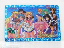 Vintage New Sailor Moon Inners Outers Bandai Prism Trading Card Carddass Sticker