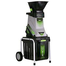Earthwise Gs70015 15-Amp Garden Corded Electric Chipper, Collection Bin