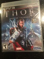Thor God of Thunder  Playstation 3  Brand New Factory Sealed PS3